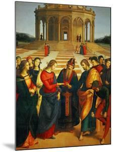 Marriage of the Virgin, 1504 by Raphael