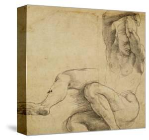 Nude Man with Raised Arms, 1511-1512 by Raphael