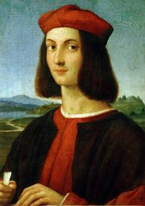 Pietro Bembo (1470-1547), Later Cardinal, in His Youth by Raphael