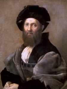 Portrait of Baldassare Castiglione, 1514-1515 by Raphael