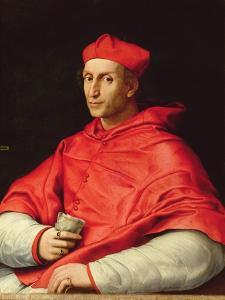 Portrait of Cardinal Dovizzi De Bibbiena (1470-1520) by Raphael