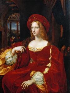 Portrait of Joan of Aragon by Raphael