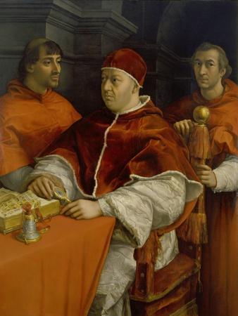 Bildnis von Papst Leo X. 1518