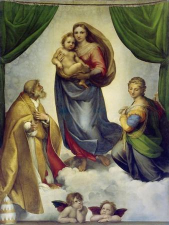 Die Sixtinische Madonna. 1512 - 1513