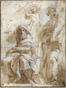 Raphael: Study, C1510 by Raphael