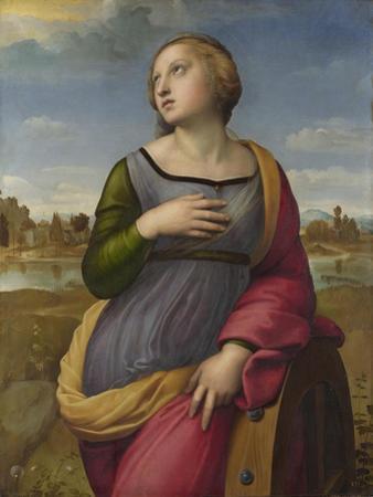 Saint Catherine of Alexandria, Ca 1507 by Raphael