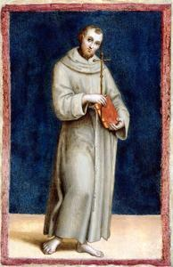 Saint Francis of Assisi by Raphael by Raphael