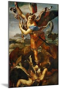 Saint Michael Slaying the Demon, 1518 by Raphael