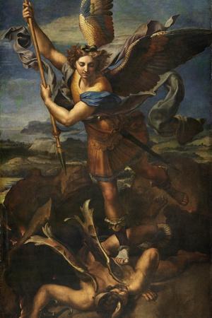 Saint Michael Vanquishing Satan, 1518