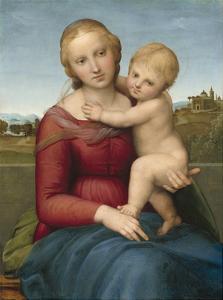 The Small Cowper Madonna, C. 1505 by Raphael Sanzio da Urbino