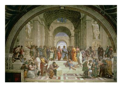 School of Athens, from the Stanza della Segnatura, 1510-11