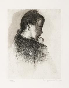 Portrait of a Girl by Raphael Soyer