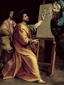 St. Luke Painting the Virgin by Raphael