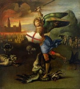 St. Michael, circa 1503-05 by Raphael