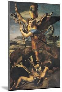 St. Michael Overwhelming the Demon, 1518 by Raphael