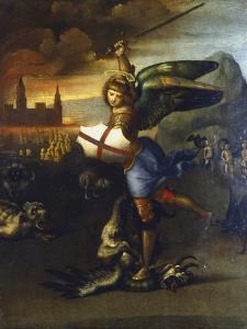 St Michael the Archangel, C1503-1504 by Raphael