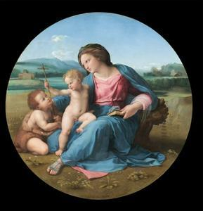The Alba Madonna by Raphael