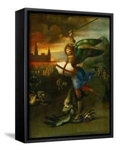The Archangel Michael Slaying the Dragon by Raphael