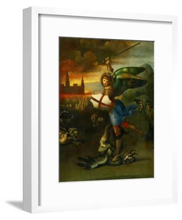 The Archangel Michael Slaying the Dragon