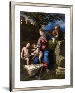 The Holy Family with an Oak Tree, 1518-1520 by Raphael