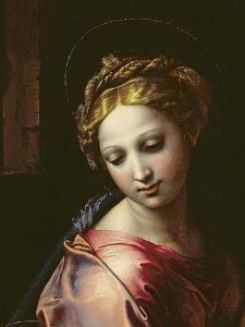 The Madonna (Detail), C.1518 by Raphael