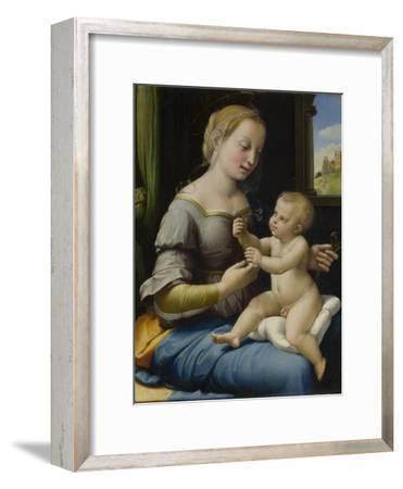 The Madonna of the Pinks (La Madonna Dei Garofan), Ca 1506-1507