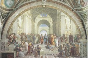 The School of Athens, c.1511 by Raphael
