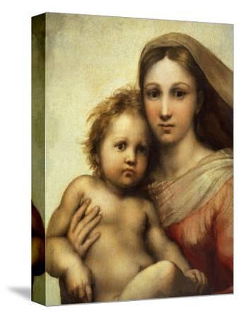 The Sistine Madonna, Madonna and Child with Pope Sixtus II and Saint Barbara, C. 1512, Detail