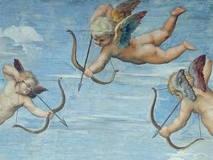 The Triumph of Galatea, 1512-14 (Detail) by Raphael