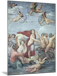 The Triumph of Galatea, 1512-14 by Raphael