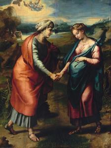 Visitation by Raphael