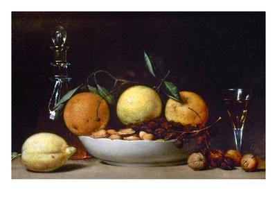 Peale: Dessert, 1814