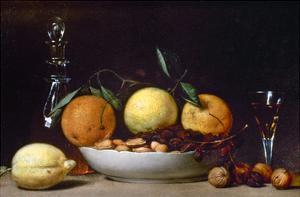 Peale: Dessert, 1814 by Raphaelle Peale