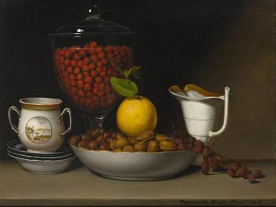 Still Life - Strawberries, Nuts, C.1822