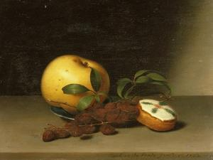 Still Life with Cake, 1822 by Raphaelle Peale