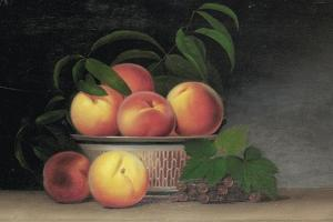 Still-Life with Peaches, C.1816 by Raphaelle Peale