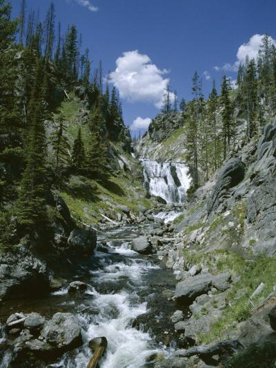 Rapids, Yellowstone National Park, Unesco World Heritage Site, Wyoming, USA-Jane O'callaghan-Photographic Print