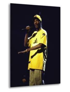 Rapper Snoop Doggy Dogg Performing at Radio City Music Hall