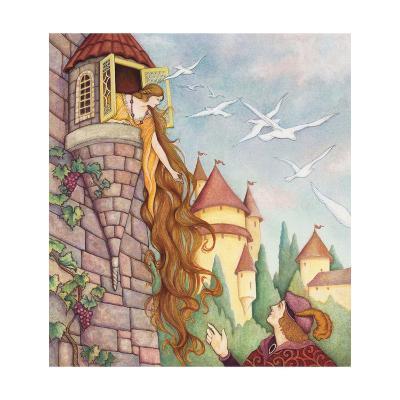 Rapunzel Fairy Tale--Art Print