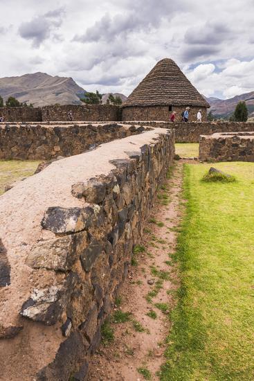 Raqchi, an Inca Archaeological Site in the Cusco Region, Peru, South America-Matthew Williams-Ellis-Photographic Print