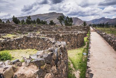 Raqchi Inca Ruins, an Archaeological Site in the Cusco Region, Peru, South America-Matthew Williams-Ellis-Photographic Print