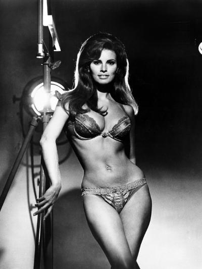 Raquel Welch, Portrait from the Film, Bedazzled, 1967--Photo
