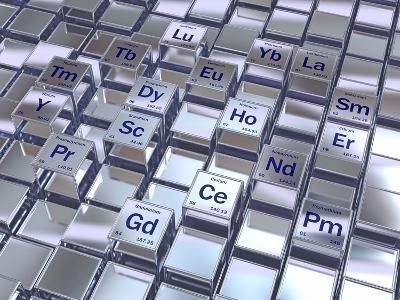 Rare Earth Metals, Conceptual Image-David Mack-Photographic Print