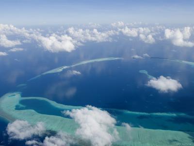 Rasdhoo Atoll, Rashdoo Atoll, Alifu, Maldives-Felix Hug-Photographic Print