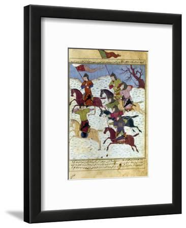 Mongol Battle, c1400