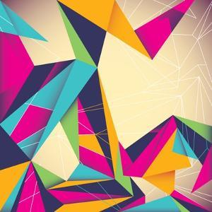 Colorful Illustrated Abstraction by Rashomon