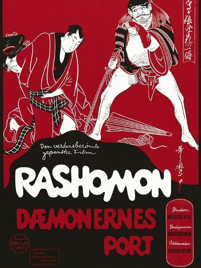 Rashomon, Japanese Movie Poster--Giclee Print