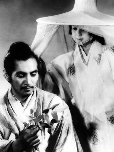 Rashomon, Masayuki Mori, Machiko Kyo, 1950--Photo
