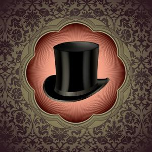 Vintage Floral With Top Hat by Rashomon