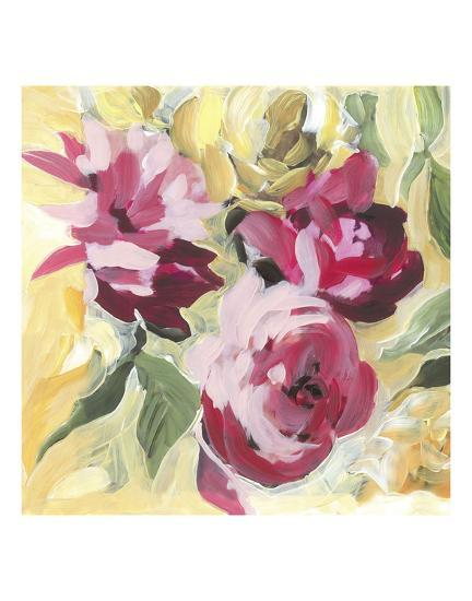 Raspberry Roses-Stacey Wolf-Art Print